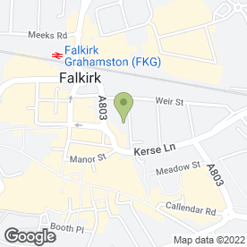 Map of LMG Hair & Beauty in Falkirk, stirlingshire