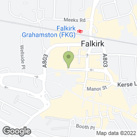 Map of MORTON PACITTI in Falkirk, stirlingshire
