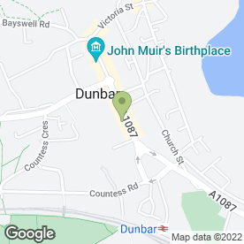 Map of Border Carpets & Blinds in Dunbar, east lothian
