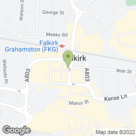 Map of Belvoir Lettings in Falkirk, stirlingshire