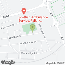 Map of Garry Shaw Martial Arts Falkirk in Falkirk, stirlingshire