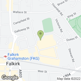Map of Tesco Superstore in Falkirk, stirlingshire