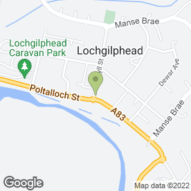 Map of The Pet Shop in Lochgilphead, argyll
