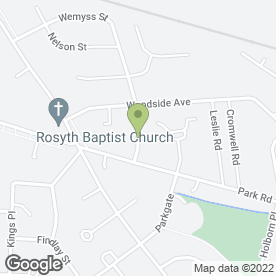 Map of Angus Plumbing Services in Rosyth, Dunfermline, fife