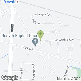 Map of Brambles Playgroup in Rosyth, Dunfermline, fife