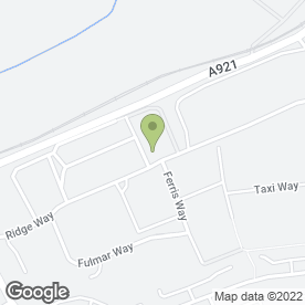 Map of Eurojet Scotland Ltd in Bellman Way, Dalgety Bay, Dunfermline, fife