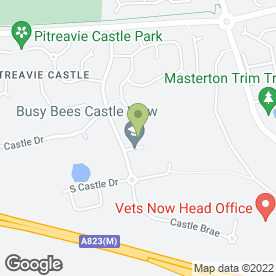 Map of Castle View Careshare Nursery in Dunfermline, fife