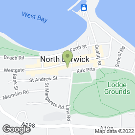 Map of Tulipa in North Berwick, east lothian