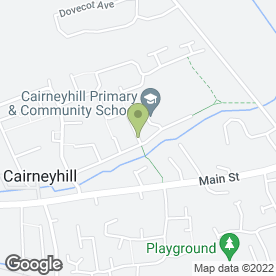 Map of HQ Ironing in Cairneyhill, Dunfermline, fife