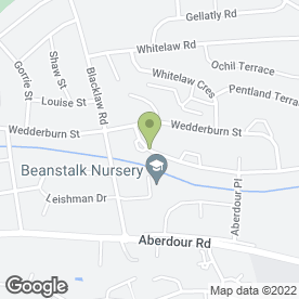 Map of Kirsty Riddell in Dunfermline, fife