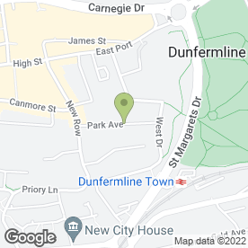 Map of Salon XI in Dunfermline, fife