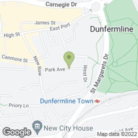 Map of Fine Designs in Dunfermline, fife