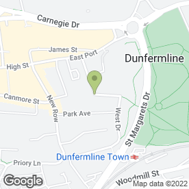 Map of White Preservation in Dunfermline, fife