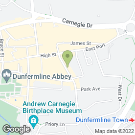 Map of Reuben's Cafe Deli in Dunfermline, fife