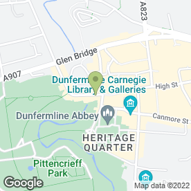 Map of The Seven Spices in Dunfermline, fife