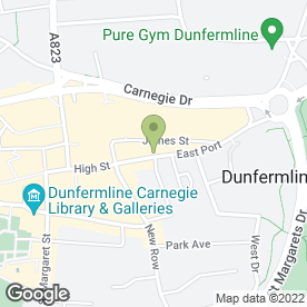Map of Escape Hairdressing in Dunfermline, fife