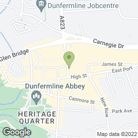 Map of Timpson Locksmith & Safe Engineers in Dunfermline, fife