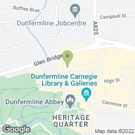 Map of New Century Chinese in Dunfermline, fife
