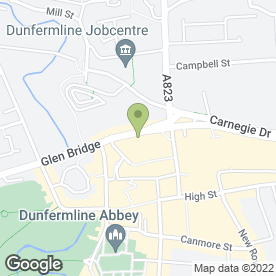 Map of Pizzaboy in Dunfermline, fife