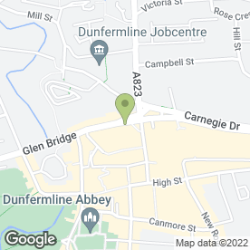 Map of Lox Hair Design in Dunfermline, fife