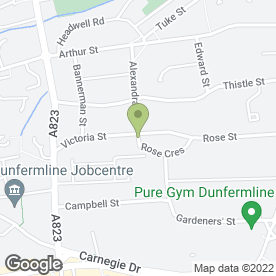 Map of Sam Foster Architects in Dunfermline, fife