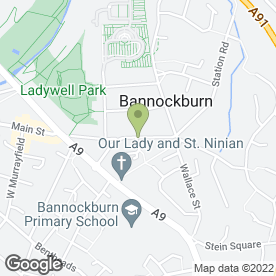 Map of Pro-Finish in Bannockburn, Stirling, stirlingshire