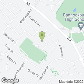 Map of WDM Services in Bannockburn, Stirling, stirlingshire