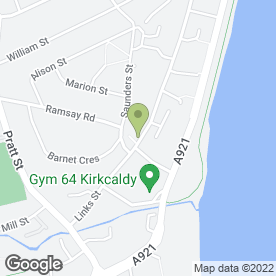 Map of Linktown P.O in Kirkcaldy, fife