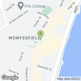 Map of Bank of Scotland in Kirkcaldy, fife