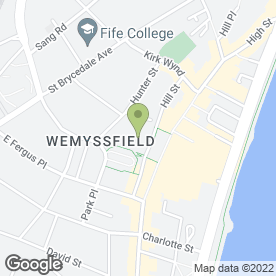 Map of Lloyds Pharmacy in Kirkcaldy, fife