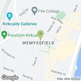 Map of Eloise Original in Kirkcaldy, fife