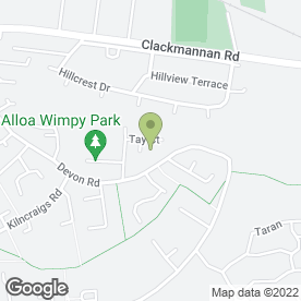 Map of R.M Bonar Electrical & Maintenance Services in Alloa, clackmannanshire