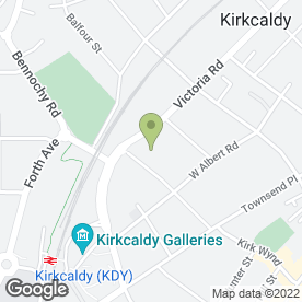 Map of Acorn Healthcare Services Ltd in Kirkcaldy, fife