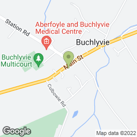 Map of Woodvale Vintage Car Hire in Buchlyvie, Stirling, stirlingshire