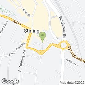 Map of Zassica Hair And Beauty in Stirling, stirlingshire