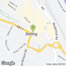 Map of Santander in Stirling, stirlingshire