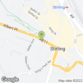 Map of Mathie MacLuckie in Stirling, stirlingshire