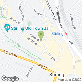 Map of New York Nails in Stirling, stirlingshire
