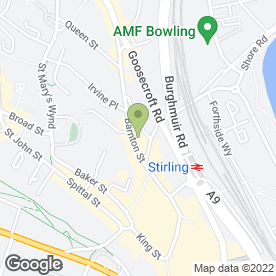 Map of Dickson Middleton in Stirling, stirlingshire