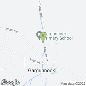 Map of John Muir Kitchens in Gargunnock, Stirling, stirlingshire