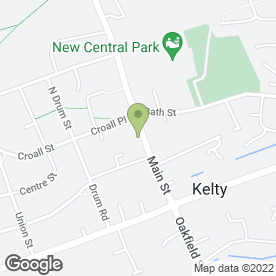 Map of Vetrica Ltd in Kelty, fife