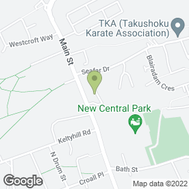 Map of DFM Locksmiths in Kelty, fife