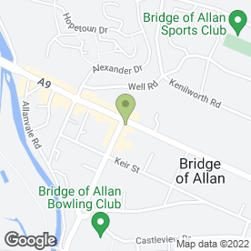 Map of Paparazzi Restaurant (Bridge Of Allen) in Bridge Of Allan, Stirling, stirlingshire
