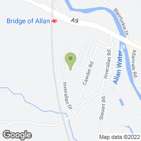 Map of Gardner Plant in Bridge Of Allan, Stirling, stirlingshire