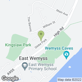Map of Pearson Cleaning Services in Kirkcaldy, fife