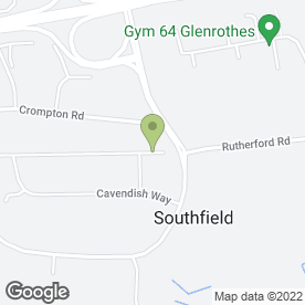 Map of Glen Blast Auto Care in Glenrothes, fife