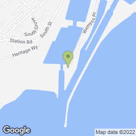 Map of Pinpoint Ltd in Methil, Leven, fife