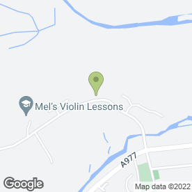 Map of 1ST FOR BALLOONS & FLOWERS in Crook Of Devon, Kinross, kinross-shire