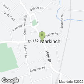 Map of Markinch Wine Gallery in Markinch, Glenrothes, fife