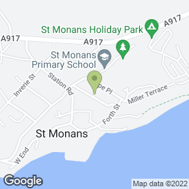 Map of Answer Driving School in St. Monans, Anstruther, fife
